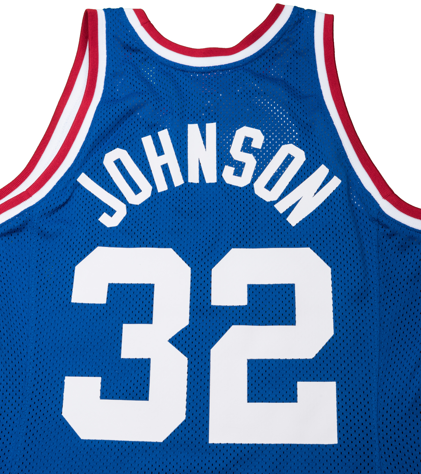 """West All Star Game '85 M. Johnson Authentic Jersey """"Royal""""-6"""