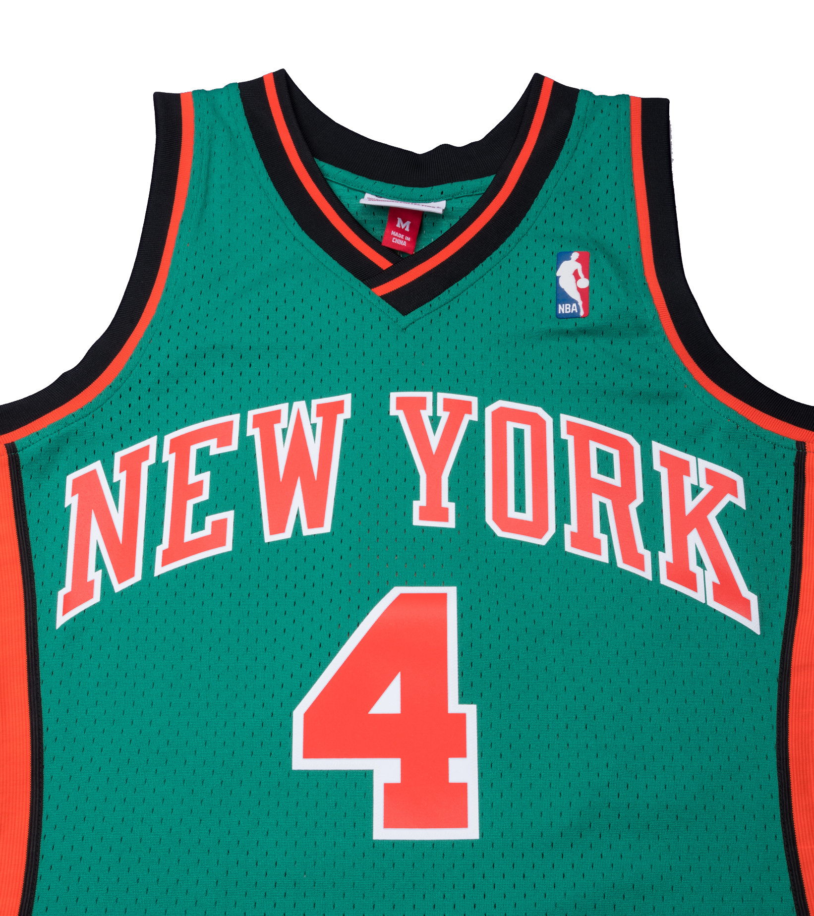 "NY Knicks '06-'07 N. Robinson Swingman Jersey ""Kelly Green""-2"