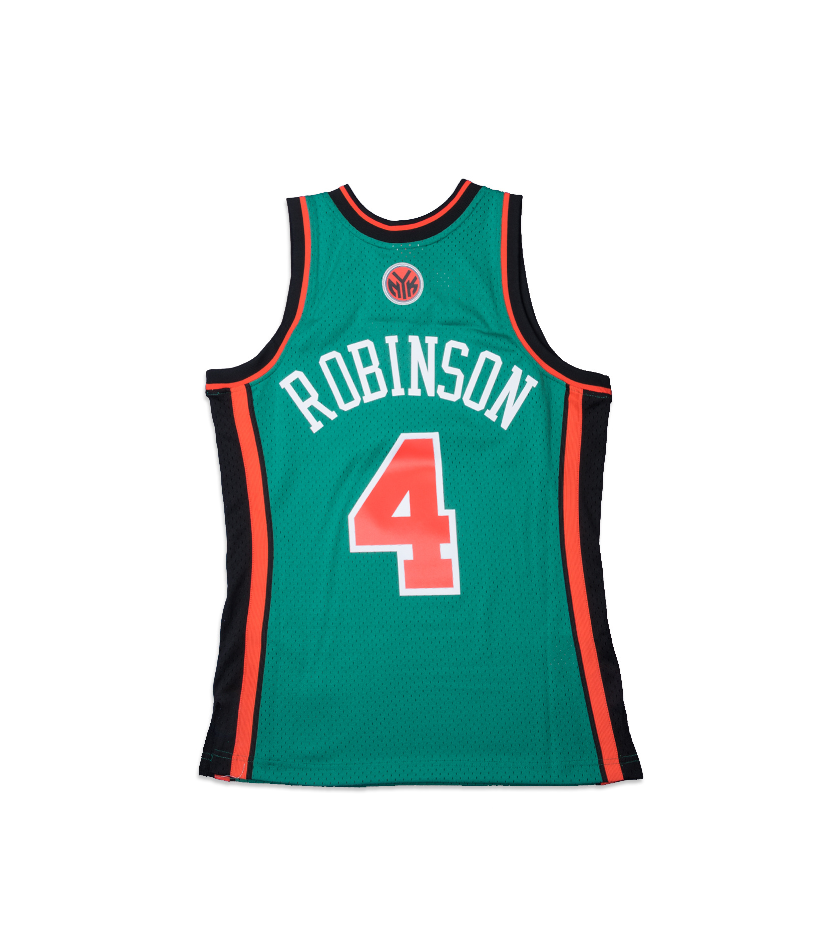 "NY Knicks '06-'07 N. Robinson Swingman Jersey ""Kelly Green""-4"