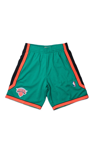 "NY Knicks '06-'07 Swingman Shorts ""Kelly Green"""