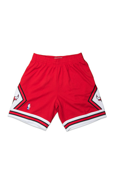 "Chicago Bulls '97-'98 Swingman Shorts ""Scarlet"""