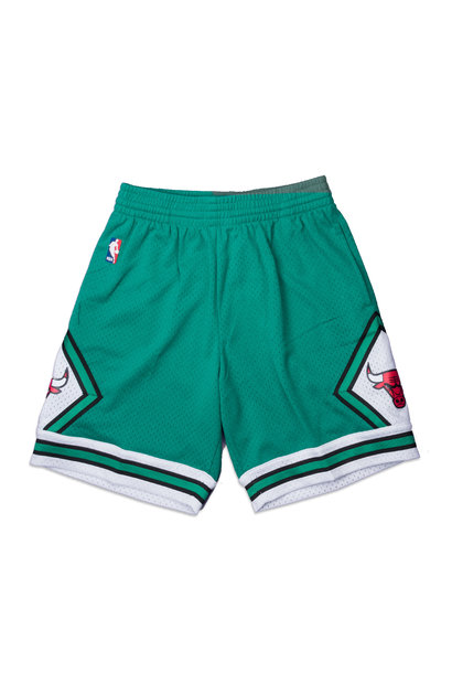 "Chicago Bulls '08-'09 Swingman Shorts ""Kelly Green"""