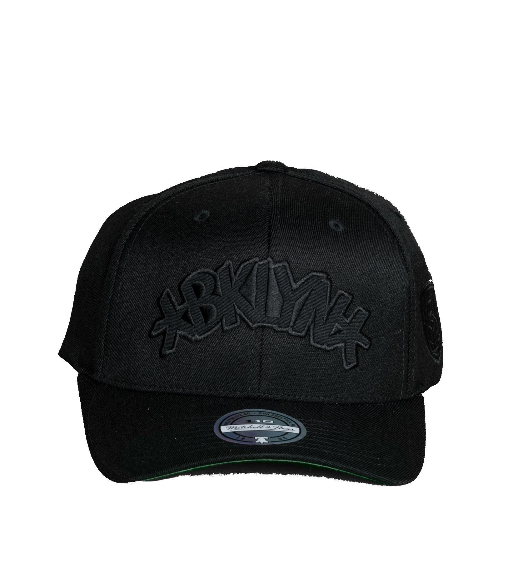 """Brooklyn Nets Tonal 110 Cap """"Black""""-3"""
