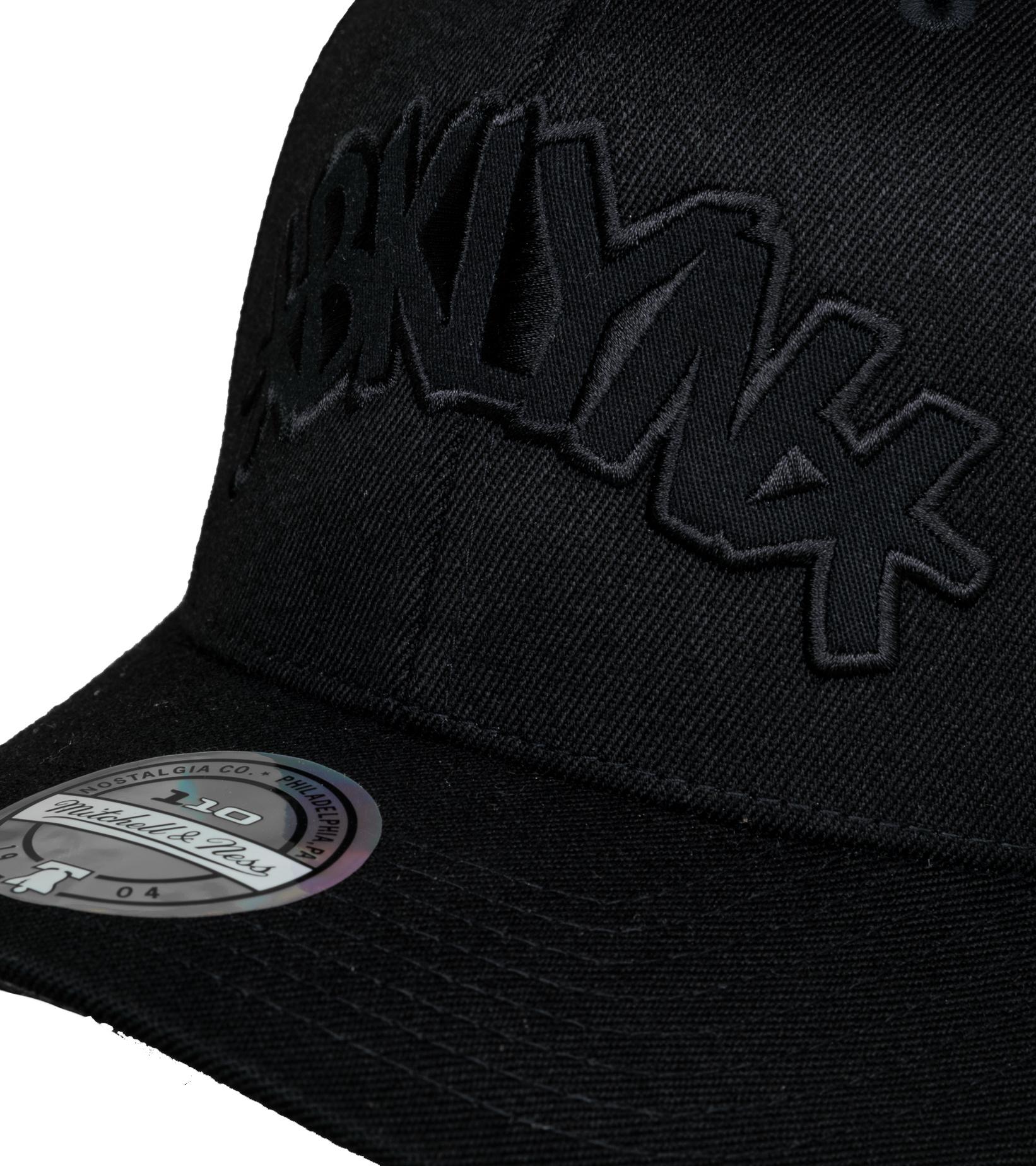 """Brooklyn Nets Tonal 110 Cap """"Black""""-4"""
