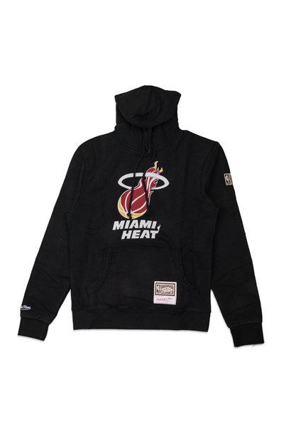 "Miami Heat Worn Logo Hoodie ""Black"""