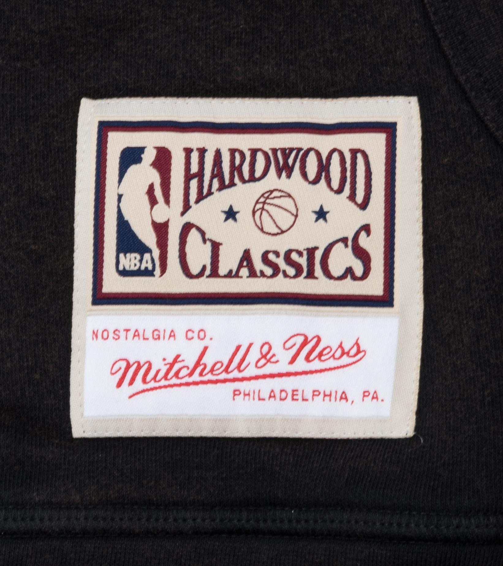 "Miami Heat Worn Logo Hoodie ""Black""-3"