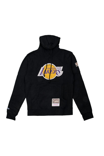 "LA Lakers Worn Logo Hoodie ""Black"""