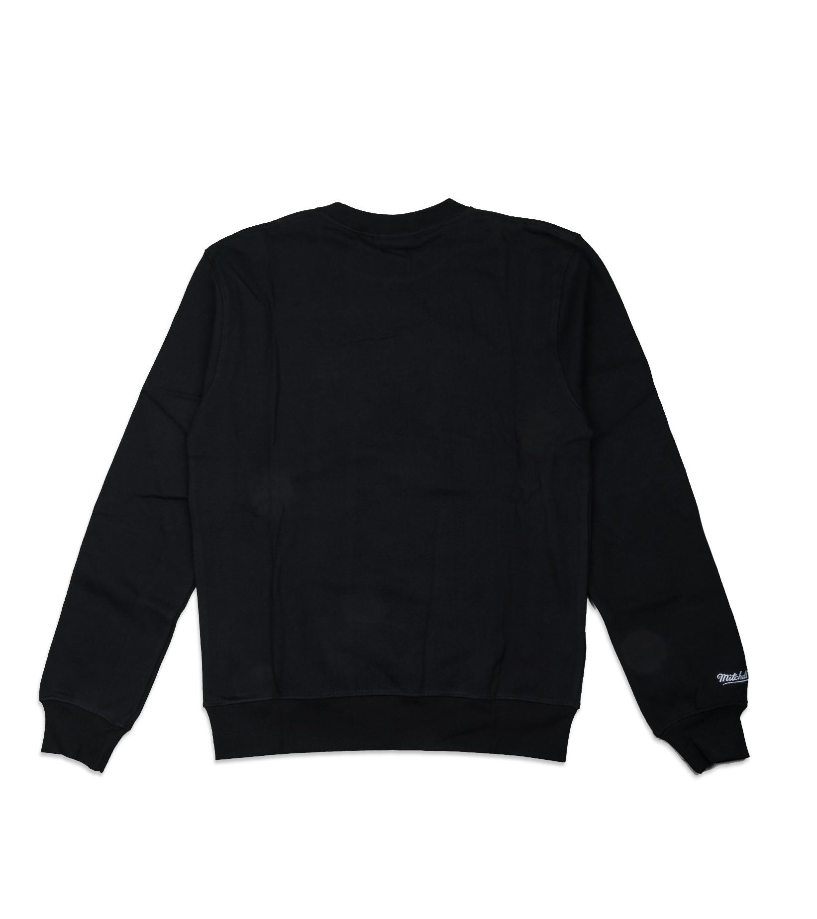 """Milwaukee Bucks Embroidered Sweatshirt """"Black""""-5"""