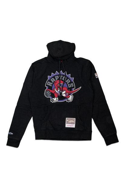 """Toronto Raptors Worn Logo Hoodie """"Black"""""""