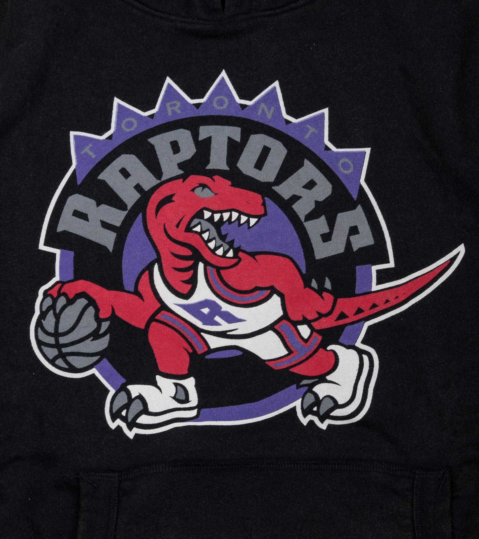 """Toronto Raptors Worn Logo Hoodie """"Black""""-2"""