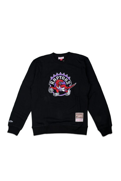 "Toronto Raptors Embroidered Logo Sweatshirt""Black"""