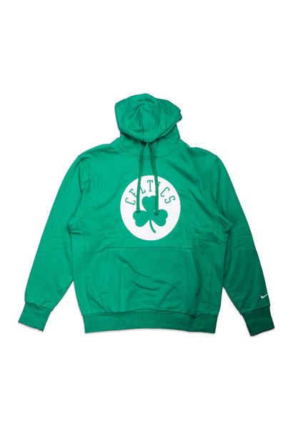 "Boston Celtics Logo Essential Hoodie ""Clover/White"""