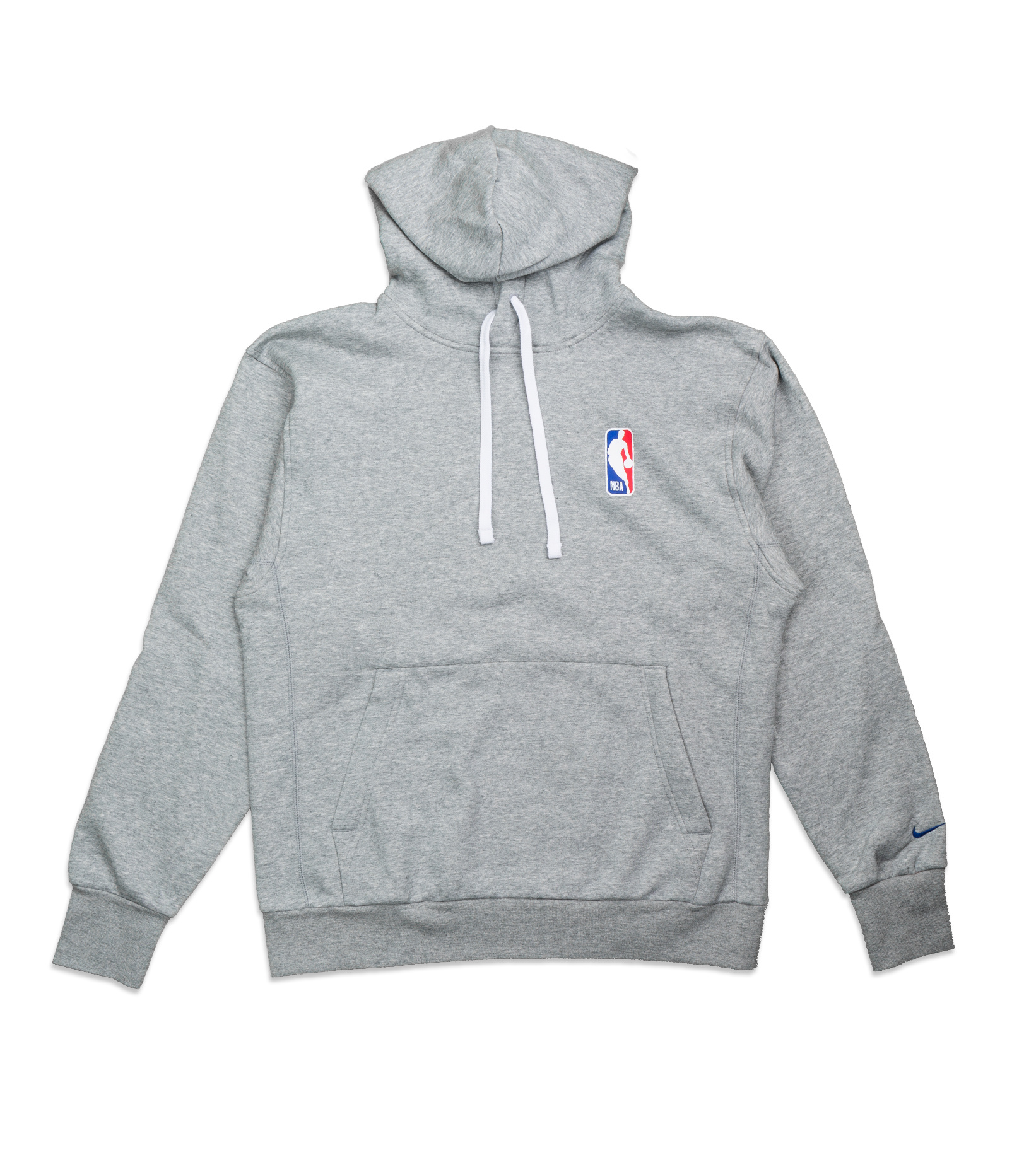 "NBA Logo Essential Hoodie ""Dark Grey Heather""-1"
