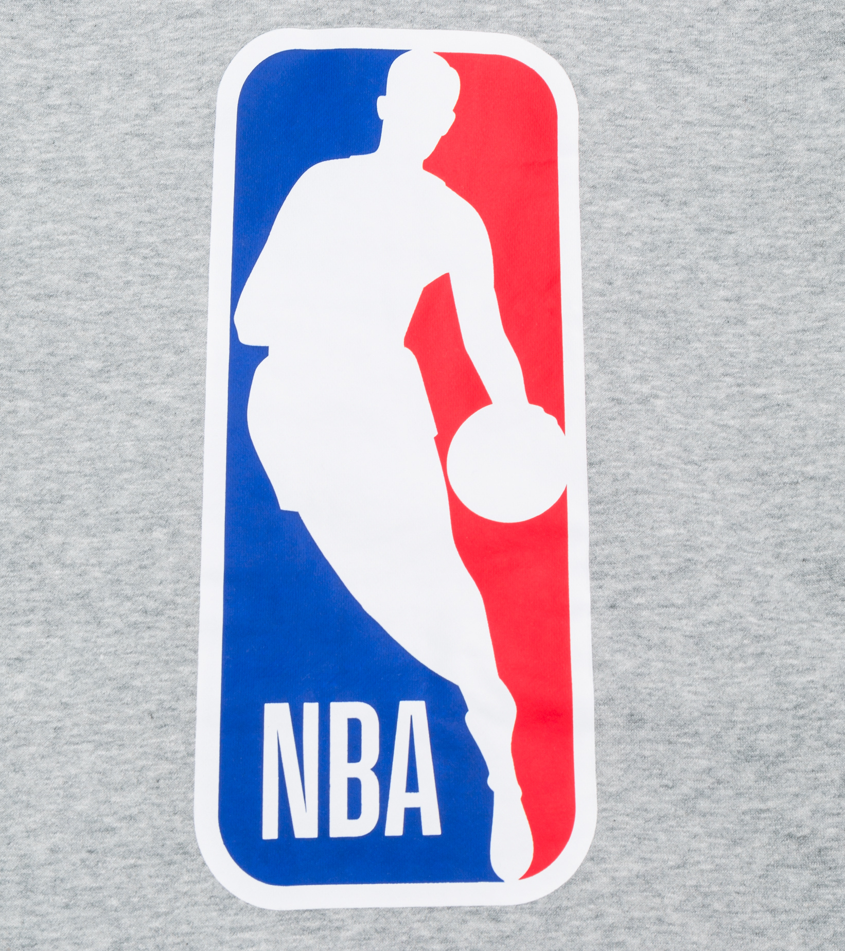 "NBA Logo Essential Hoodie ""Dark Grey Heather""-5"