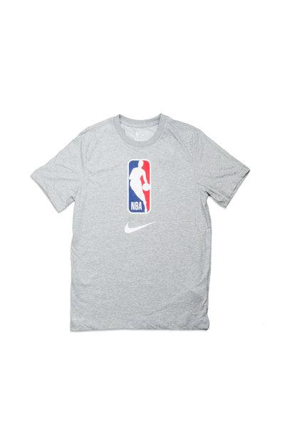 "NBA Logo Dri-Fit Tee ""Dark Grey Heather"""