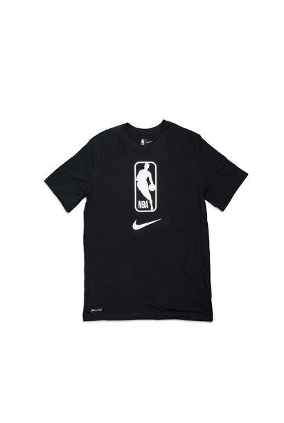 "NBA Logo Dri-Fit Tee ""Black/White"""