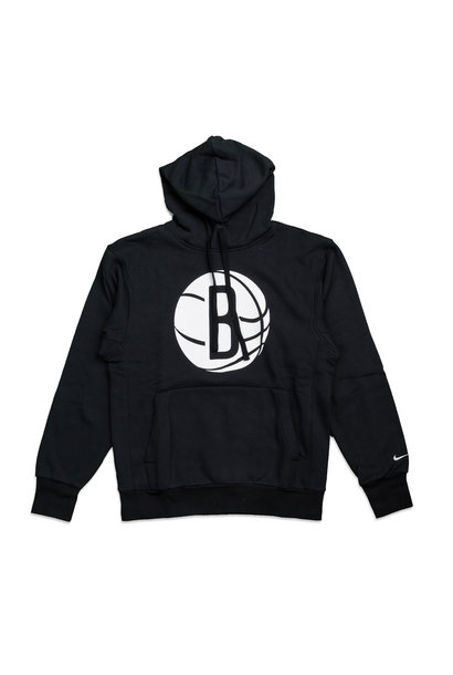 "Brooklyn Nets Logo Essential Hoodie ""Black/White"""
