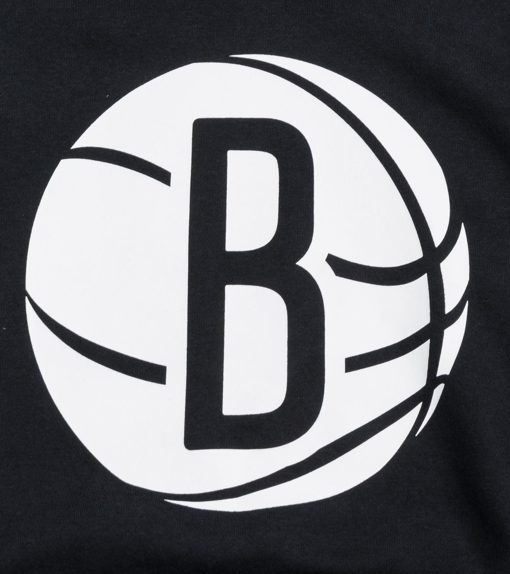 "Brooklyn Nets Logo Essential Hoodie ""Black/White""-2"