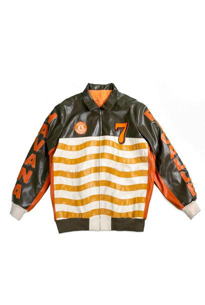 "Leather Jacket x Pigalle ""Brown/Orange"""