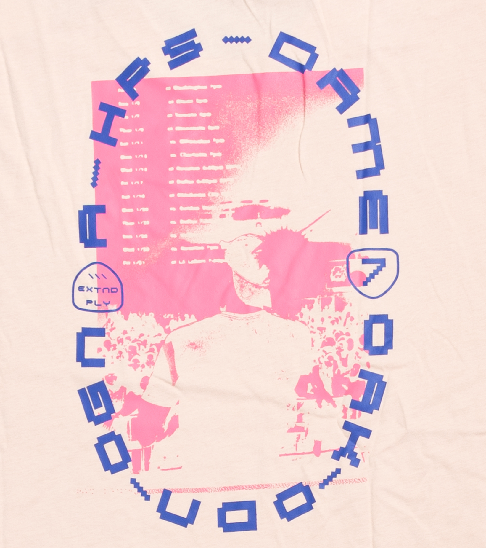 "Dame 7 EP Tee ""Halo Blush""-4"