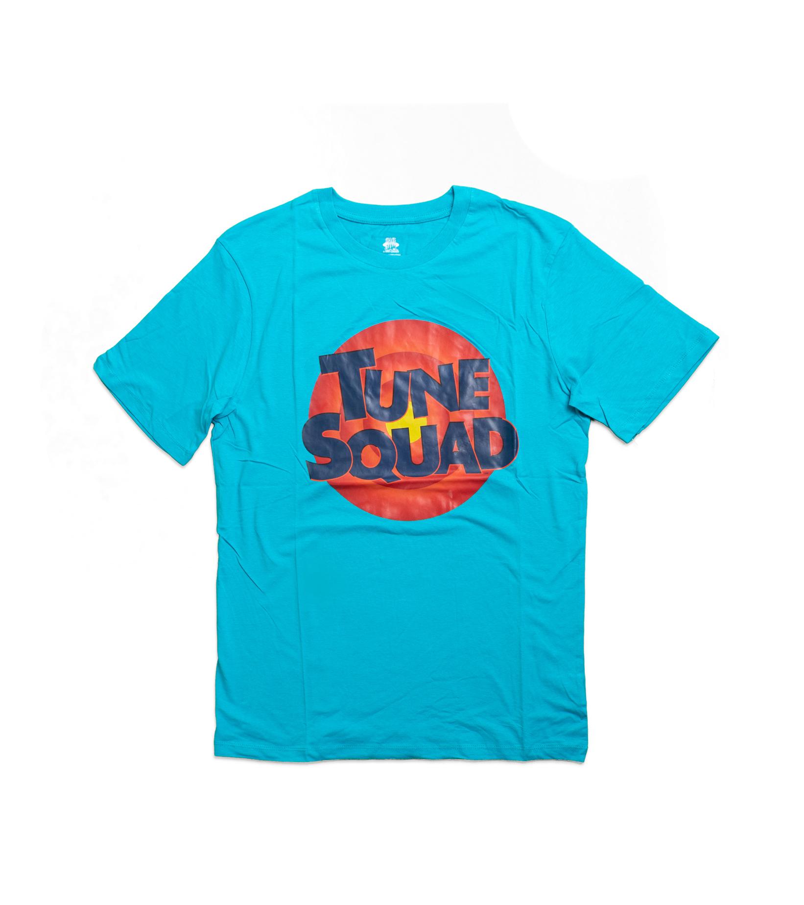 "Tune Squad Logo Tee ""Teal""-1"