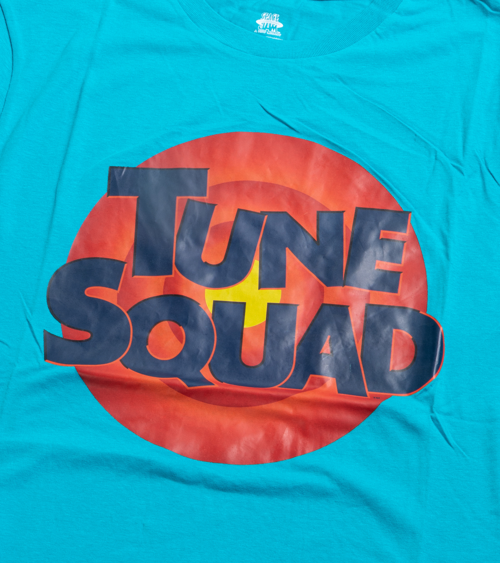 """Tune Squad Logo Tee (Youth) """"Teal""""-2"""