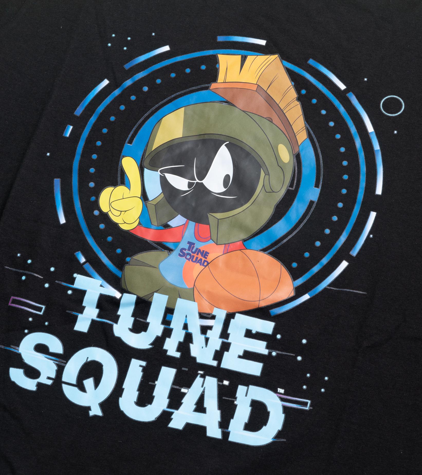 "Space Jam Tech Sleeve LS Tee ""Black""-2"