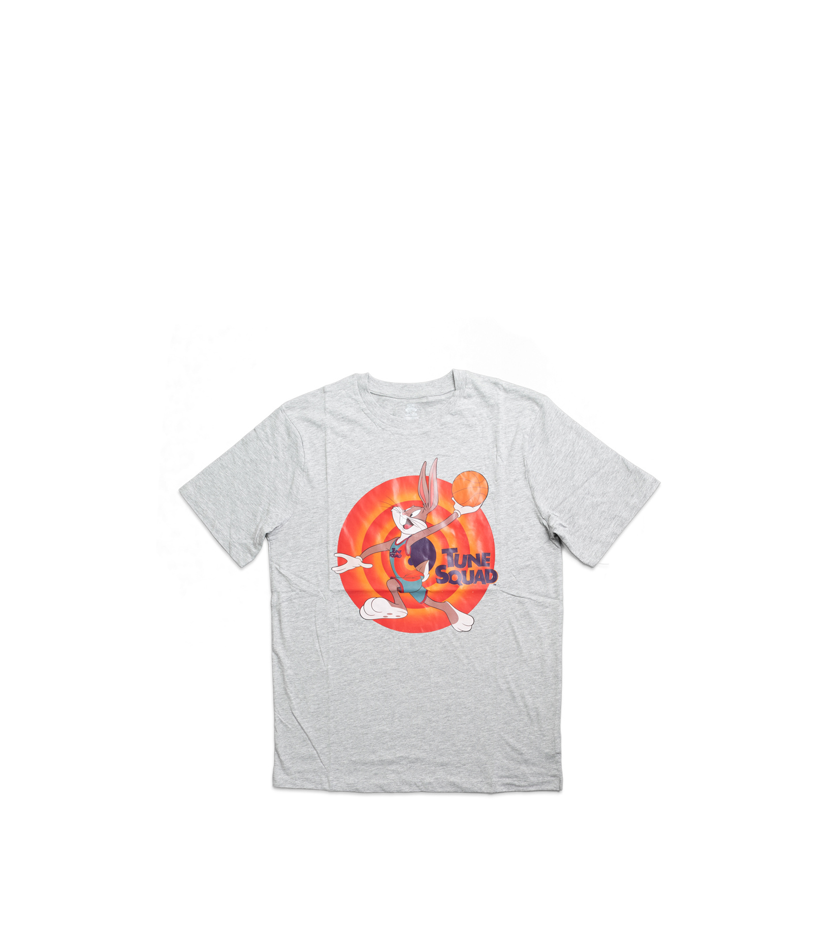 """Space Jam Tune Squad Bugs Bunny Tee (Young Boys) """"Heather Grey""""-1"""