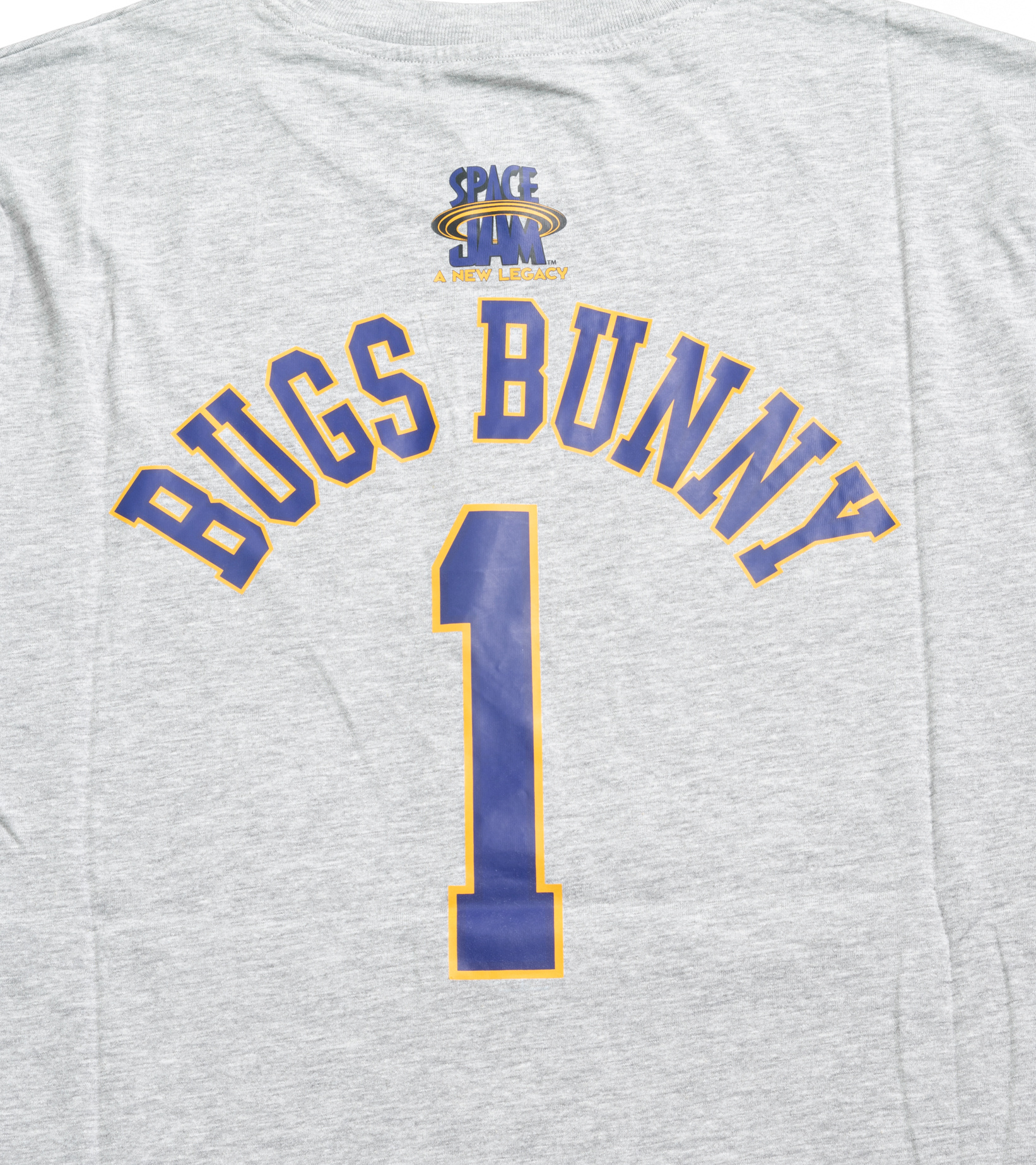 """Space Jam Tune Squad Bugs Bunny Tee (Young Boys) """"Heather Grey""""-4"""