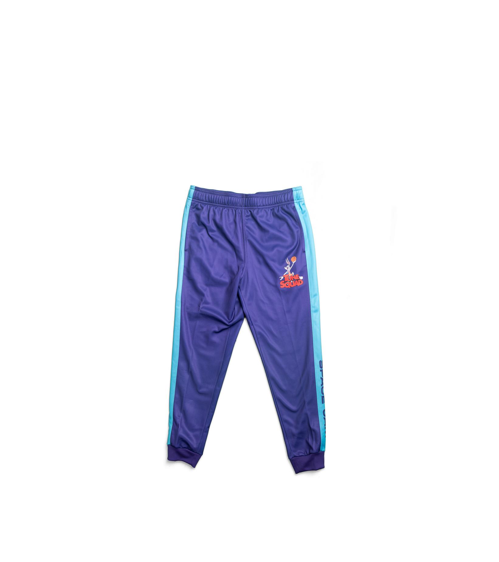 """Defender Space Jam 2 Fleece Pants (Youth) """"Purple/Teal""""-1"""