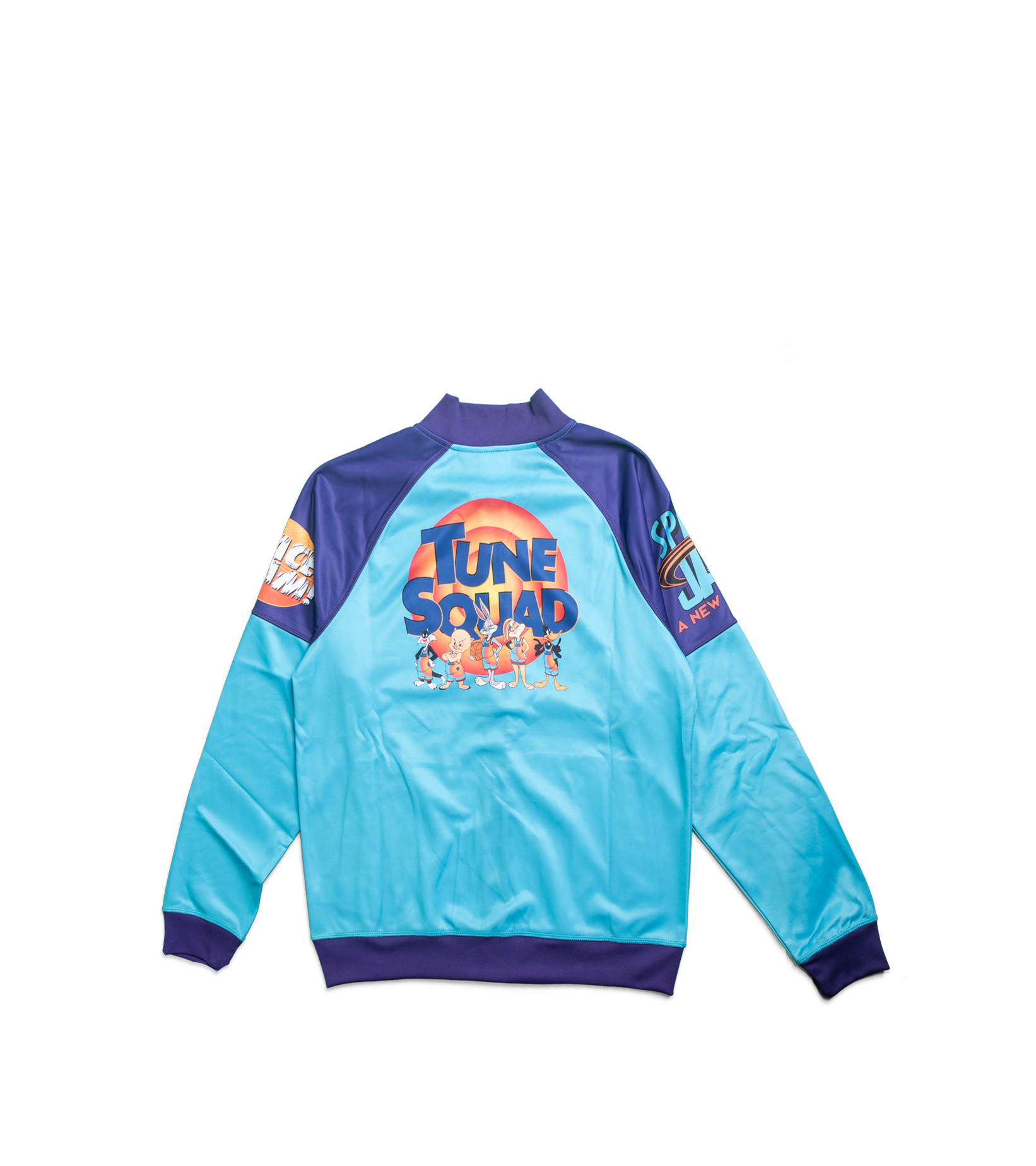 """Game Changer Space Jam 2 Full-Zip Jacket (Youth) """"Teal/Purple""""-4"""