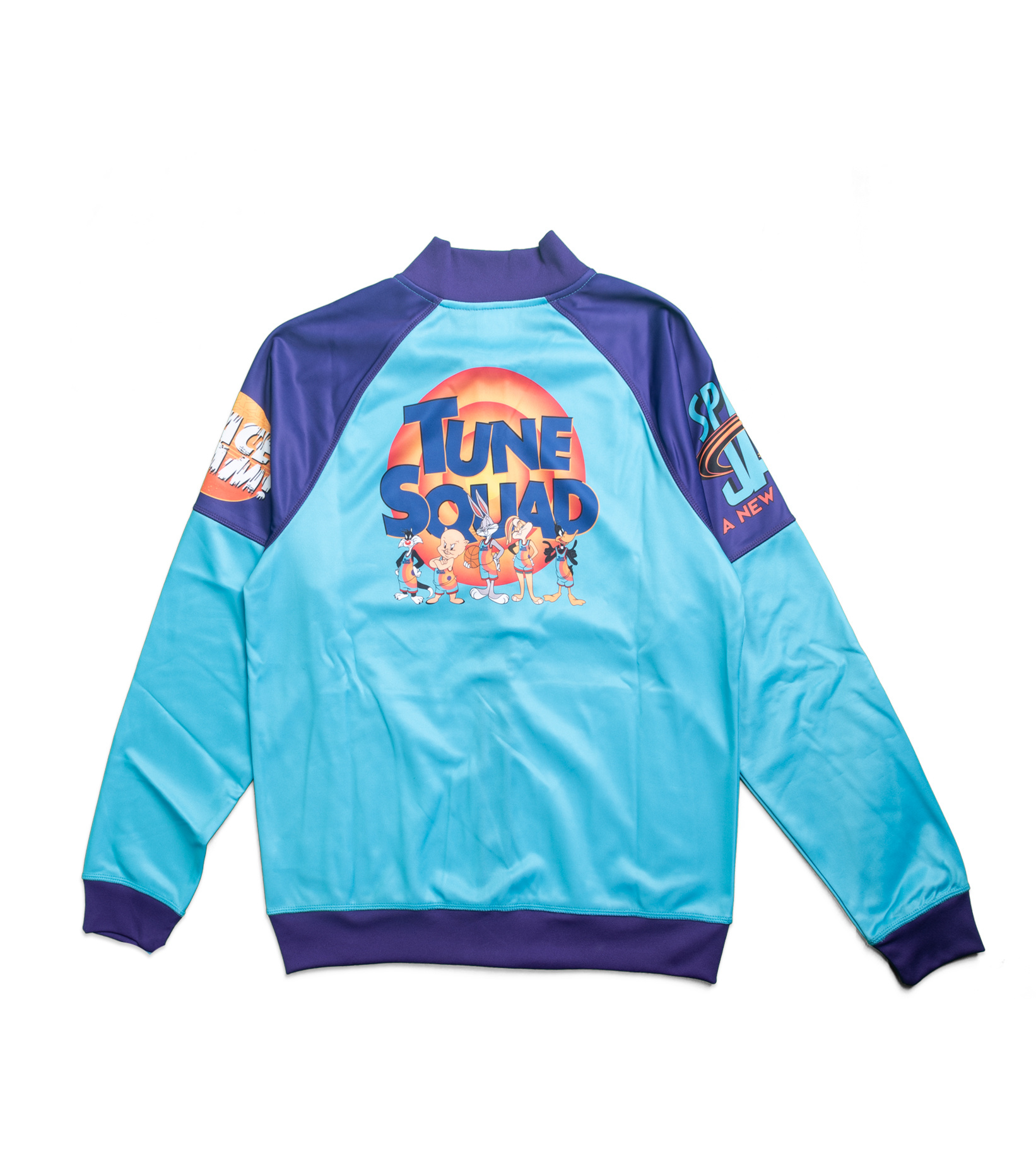 """Game Changer Space Jam 2 Full-Zip Jacket (Youth) """"Teal/Purple""""-5"""