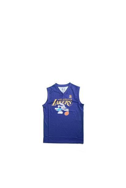 "LA Lakers Slam Dunk Mesh Tanktop (Young Boys) ""Purple"""