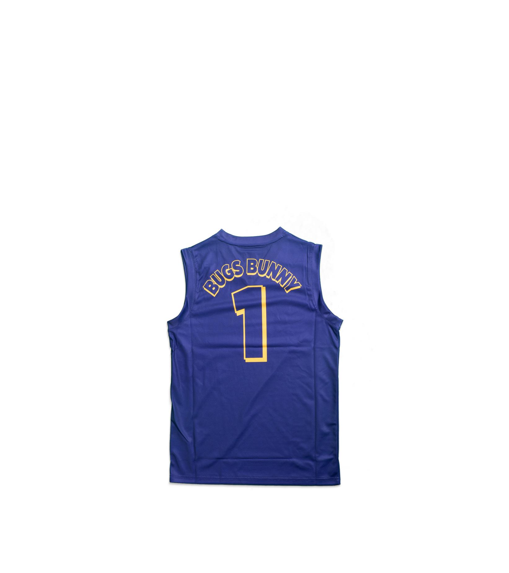 "LA Lakers Team Slam Dunk Mesh Tanktop (Young Boys) ""Purple""-3"