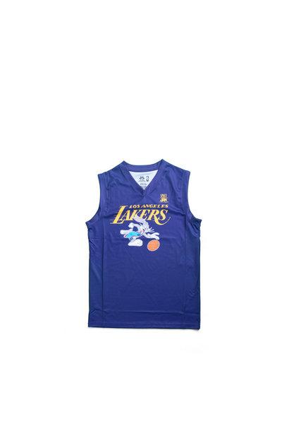 "LA Lakers Slam Dunk Mesh Tanktop (Youth) ""Purple"""