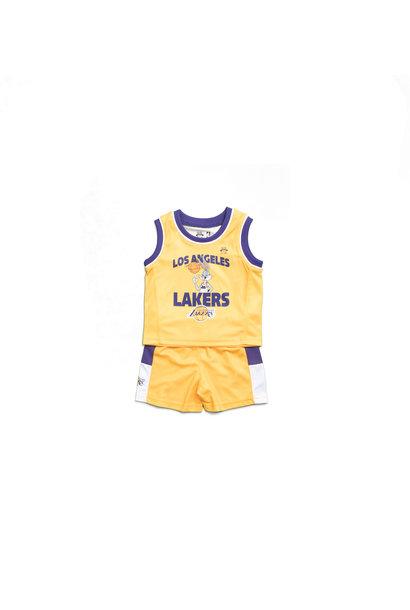 "LA Lakers Zone Defense Tanktop/Short Set (Infant) ""Yellow"""