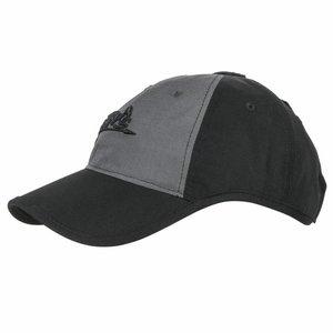 Helikon-Tex Logo cap Black / Shadow Gray