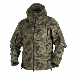 Helikon-Tex Patriot Jacket Double Fleece PL WOODLAND