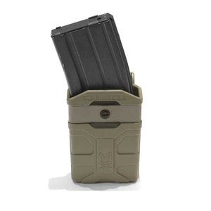 Warrior Assault Systems Polymer 5.56mm Mag Pouch (Dark Earth)