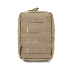Warrior Assault Systems Large MOLLE Utility Pouch Coyote