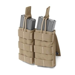 Warrior Assault Systems Double MOLLE Open M4 5.56mm Coyote