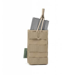 Warrior Assault Systems Coyote Tan Ammo Pouche Single M4 5.56mm Coyote