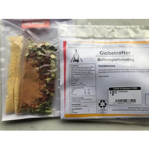 Globetrotter Buitensportvoeding Tomato soup