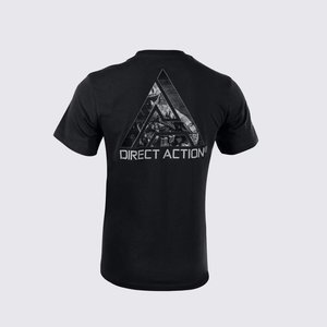 Direct Action T-Shirt Logo DA Black