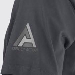 Direct Action T-Shirt Logo DA Shadow Gray