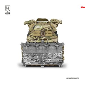 Husar Concrete Plate Carrier Coyote Brown