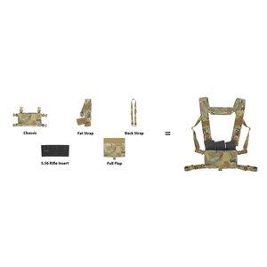 Spiritus Systems MK3 Complete Kit 5.56 Fat Strap Ranger Green