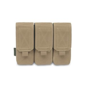 Warrior Assault Systems Coyote Tan Ammo Pouch Triple M4 5.56mm Coyote