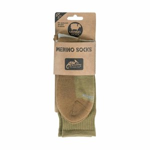 Helikon-Tex Merino Sock  Olive Green / Coyote