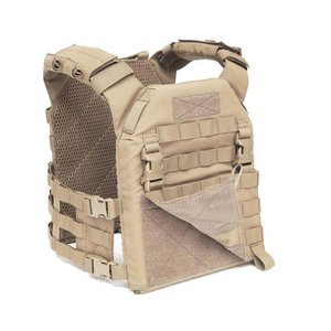 Warrior Assault Systems Recon Plate Carrier Molle Front Panel Coyote Tan